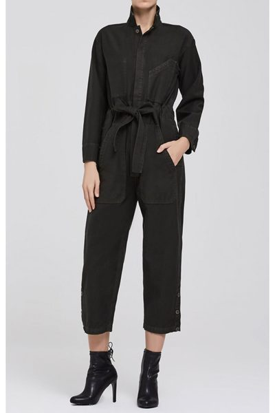 CITIZENS OF HUMANITY NATALIA JUMPSUIT BLACK FOREST Was: £450.00 Now: £50.00