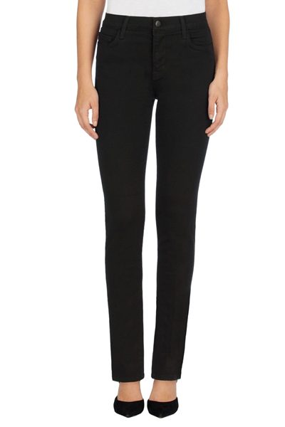J BRAND MARIA STRAIGHT LEG SERIOUSLY BLACK Was: £212.00 Now: £50.00