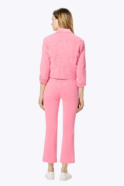 J BRAND SELENA MID-RISE CROP GUAVA Was: £223.00 Now: £50.00