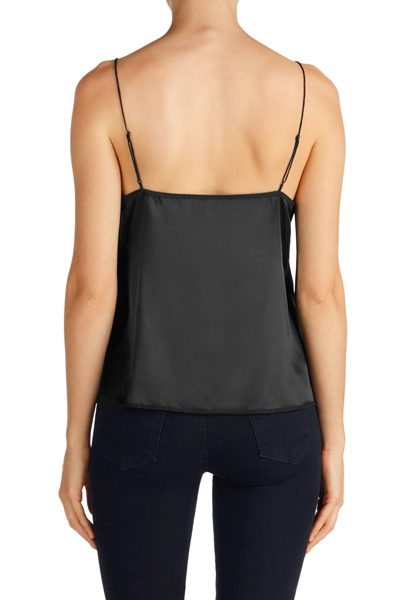 J BRAND THE LUCY CAMI BLACK Was: £96.00 Now: £50.00