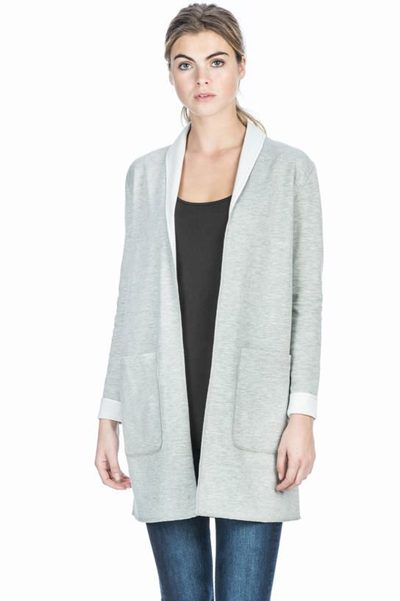LILLA P REVERSIBLE LIGHTWEIGHT JACKET GREY Was: £220.00 Now: £50.00