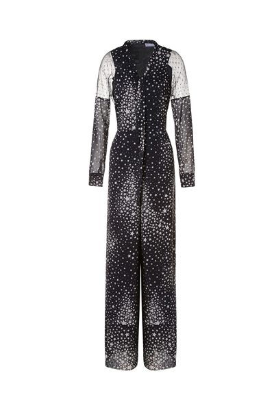 RED VALENTINO STARDUST PRINT JUMPSUIT STAR Was: £799.00 Now: £399.00