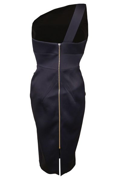 ROLAND MOURET ANERLEY DRESS 1082 NAVY Was: £1,450.00 Now: £725.00