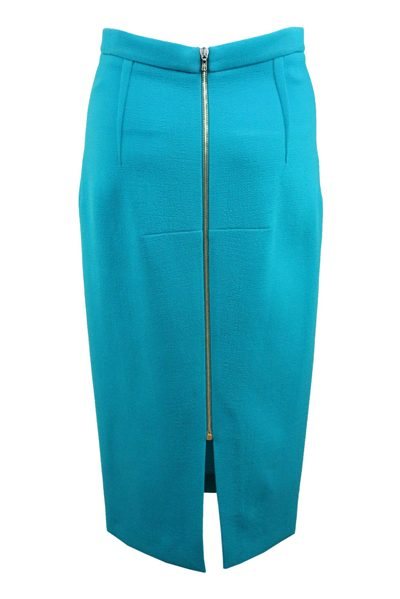 ROLAND MOURET Arreton Sea Green Skirt SEA GREEN Was: £450.00 Now: £225.00
