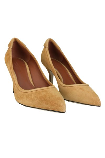 YVONNE KONE CLASSIC HEELED PUMP TAUPE Was: £345.00 Now: £100.00