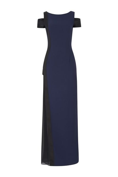 AMANDA WAKELEY MIDNIGHT BEADED DRESS MIDNIGHT BLACK Was: £1,295.00 Now: £495.00
