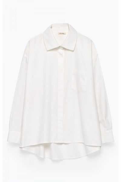 AMERICAN VINTAGE PIZABAY SHIRT WHITE Was: £90.00 Now: £45.00