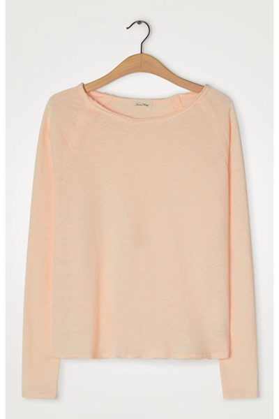 AMERICAN VINTAGE SONOMA LONG SLEEVE T-SHIRT BISCUIT £60.00