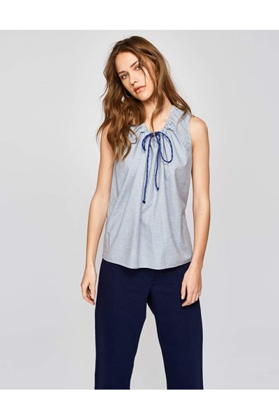 BELLEROSE ALLO BLOUSE BLUE DEW £72.00