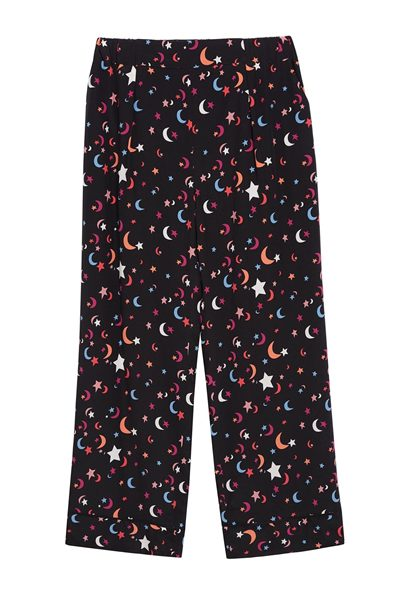 CHINTI & PARKER MIDNIGHT SKY PYJAMA STYLE PANT BLACK Was: £295.00 Now: £148.00