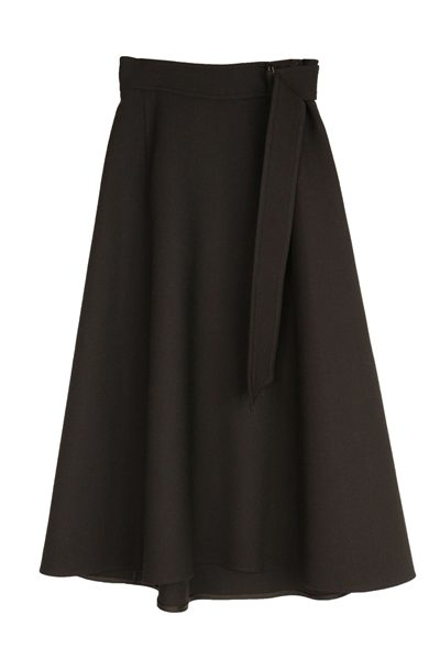 DOROTHEE SCHUMACHER BELTED SKIRT BLACK Was: £342.00 Now: £171.00