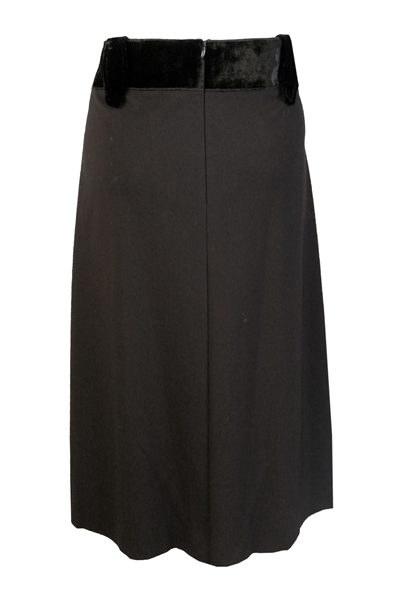 DOROTHEE SCHUMACHER EFFORTLESS ESSENCE SKIRT BLACK Was: £187.00 Now: £50.00
