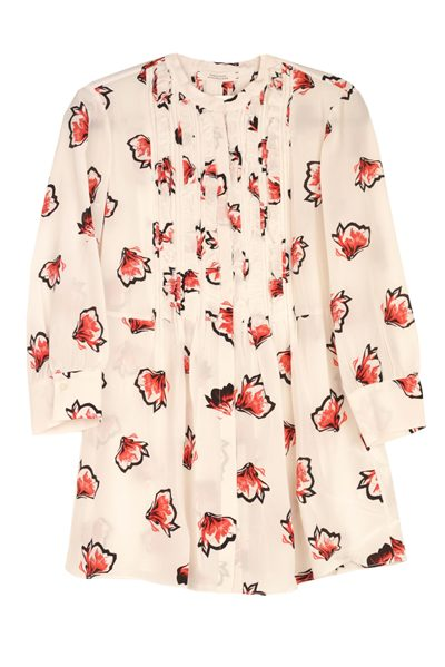DOROTHEE SCHUMACHER RED FLORAL BLOUSE RED FLORA Was: £459.00 Now: £230.00