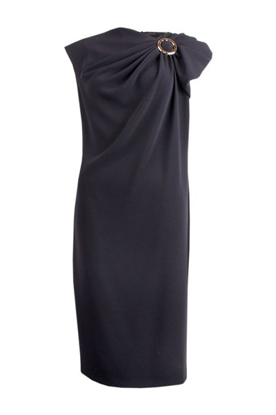 ESCADA Dobo Dress NAVY Was: £545.00 Now: £200.00