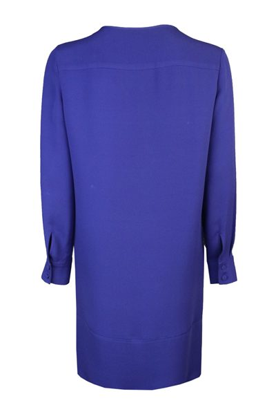 ESCADA SILK TUNIC DRESS BLUE Was: £635.00 Now: £318.00
