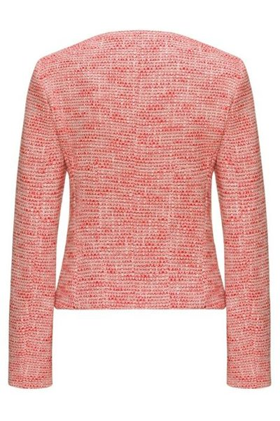 HUGO BY HUGO BOSS ZIP THROUGH TWEED JACKET ORANGE Was: £330.00 Now: £165.00