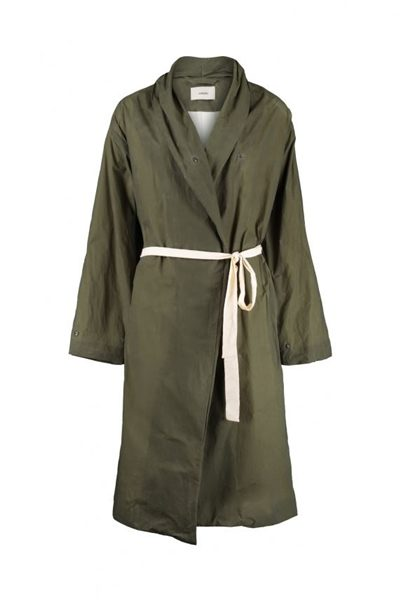 HUMANOID WEITS TRENCH COAT FOREST Was: £394.00 Now: £197.00