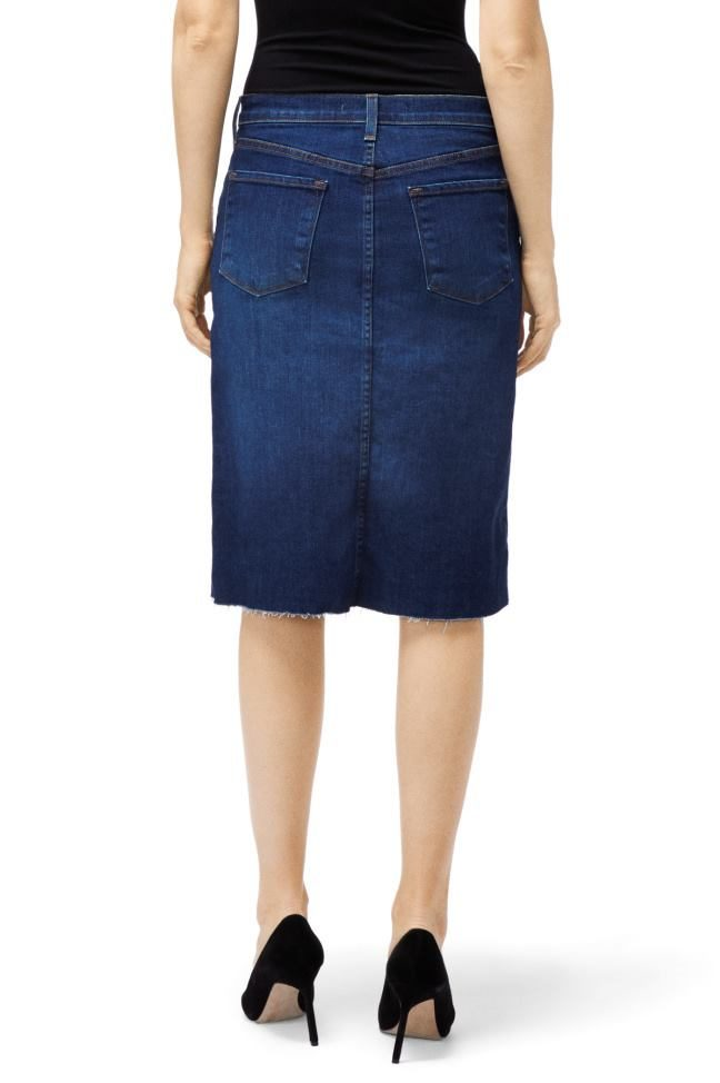 81716218aa Trystan Denim Skirt In Arcade - Fluidity F2