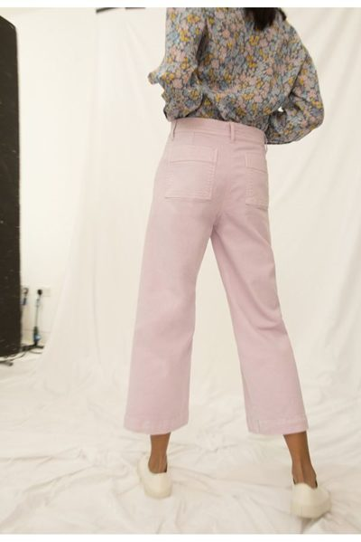 M.i.h JEANS CARON CROPPED PANT LUPIN Was: £215.00 Now: £115.00