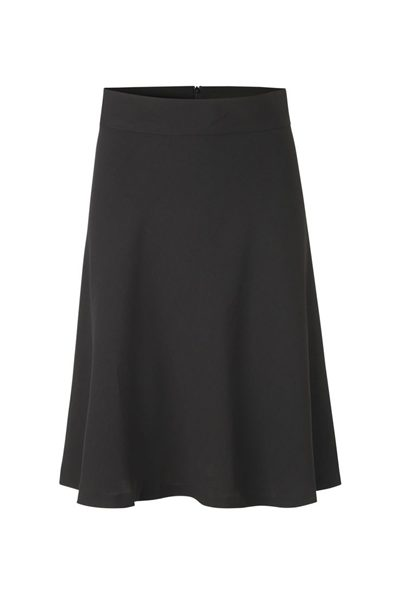 MADS NORGAARD CREPE GEORGETTE STELLY SKIRT BLACK Was: £96.00 Now: £48.00