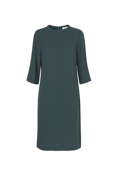 MADS NORGAARD GEORGETTE CREPE DRESS GREEN Was: £138.00 Now: £50.00