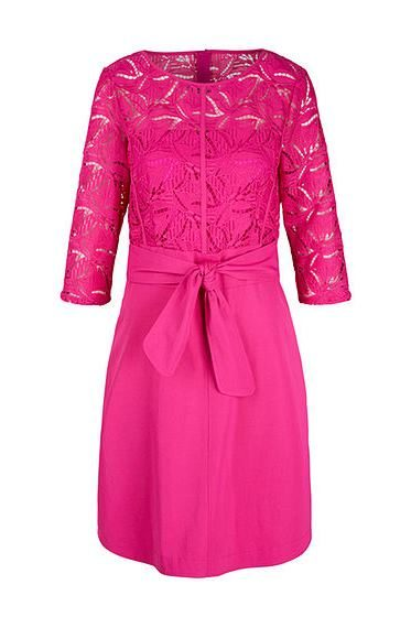 MARC CAIN PINK LACE DRESS 268 Was: £345.00 Now: £172.00