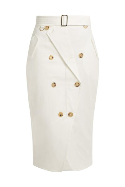 MAX MARA MAIN SIENA SKIRT IVORY Was: £344.00 Now: £172.00