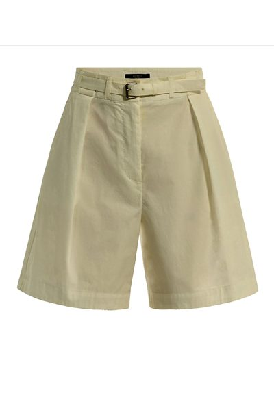 MAX MARA WEEKEND KETCH BERMUDA SHORTS KHAKI Was: £148.00 Now: £124.00
