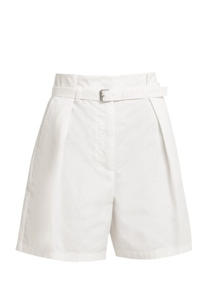MAX MARA WEEKEND KETCH BERMUDA SHORTS WHITE Was: £148.00 Now: £124.00