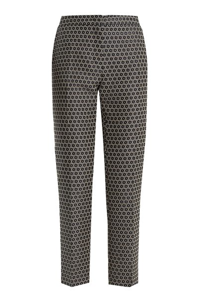 MAX MARA WEEKEND OMBROSA PRINTED TROUSER NAVY Was: £170.00 Now: £85.00