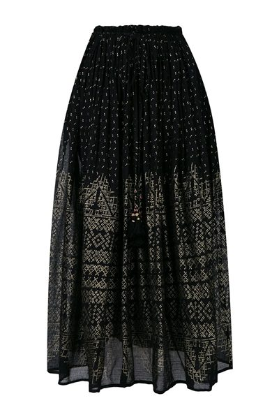 MES DEMOISELLES BYZANTINE SKIRT BLACK Was: £240.00 Now: £120.00