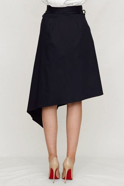 PALMER / HARDING COMBINE SKIRT NAVY Was: £275.00 Now: £138.00