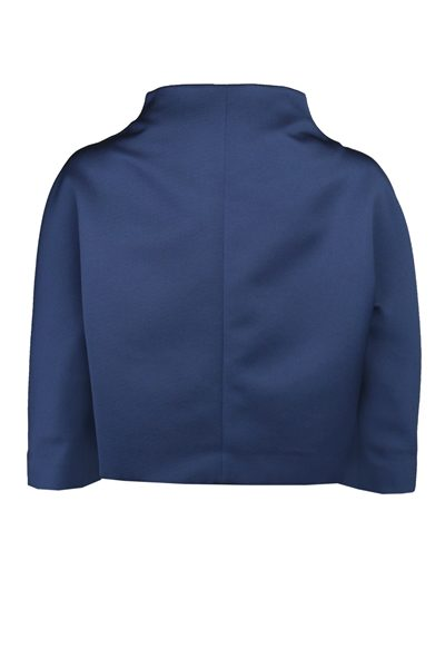 PAULE KA SATIN JACKET BLUE Was: £450.00 Now: £350.00