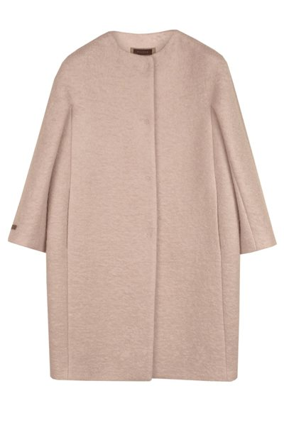 PESERICO LONGLINE COAT GREY Was: £574.00 Now: £287.00
