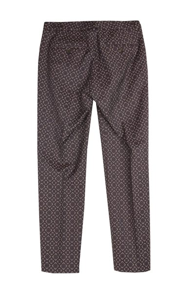 PESERICO NAVY PRINT TROUSER NAVY PRNT Was: £270.00 Now: £50.00