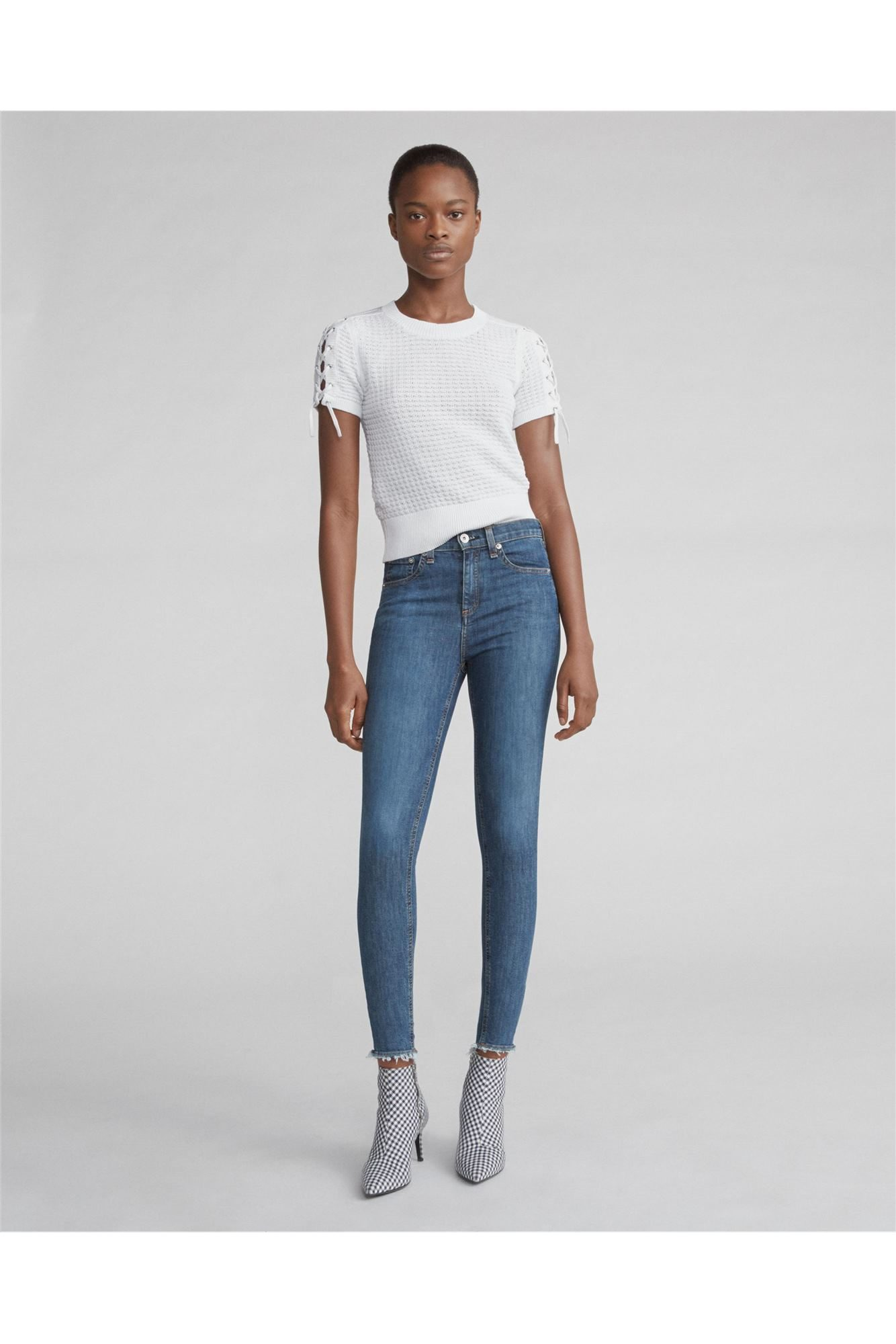 19ede0b7d15c2 HIGH RISE ANKLE SKINNY - Fluidity F2