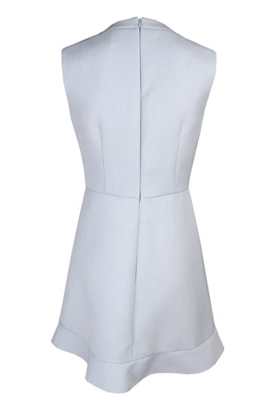 RED VALENTINO PUSSYBOW COLLAR DRESS INOX Was: £348.00 Now: £200.00