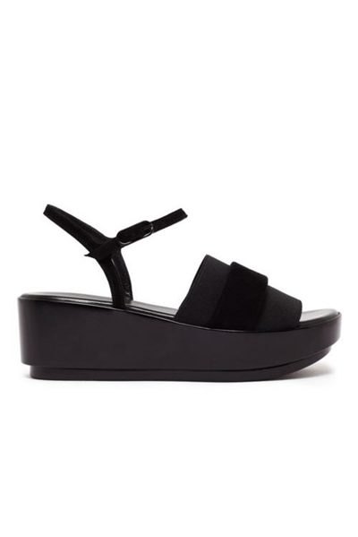 ROBERT CLERGERIE PODDY PLATFORM BLACK Was: £290.00 Now: £90.00