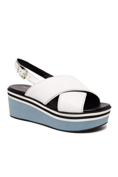 ROBERT CLERGERIE PULPA PLATFORM WHITE Was: £375.00 Now: £99.00