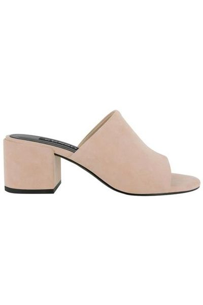 SENSO RAY SLIP-ON MULES BLUSH Was: £138.00 Now: £50.00