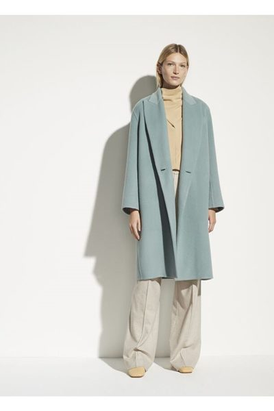 VINCE Double Breasted Oversized Coat PAT £767.00