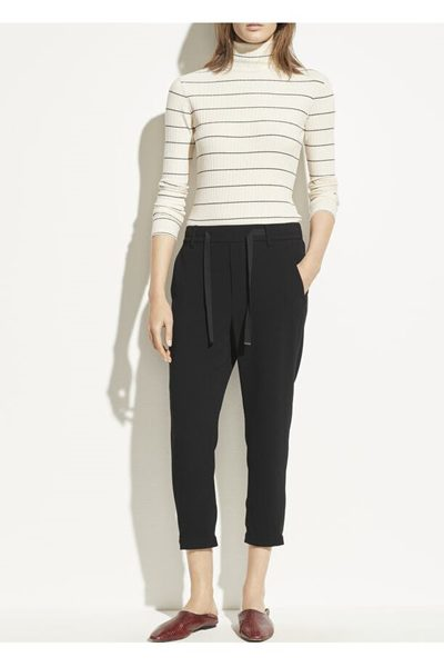VINCE Easy Pull On Pant BLACK £275.00