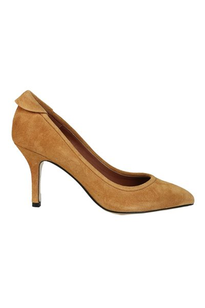 YVONNE KONE CLASSIC HEELED PUMP TAUPE Was: £345.00 Now: £50.00