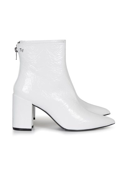 ZADIG & VOLTAIRE White patent boots WHITE Was: £480.00 Now: £240.00